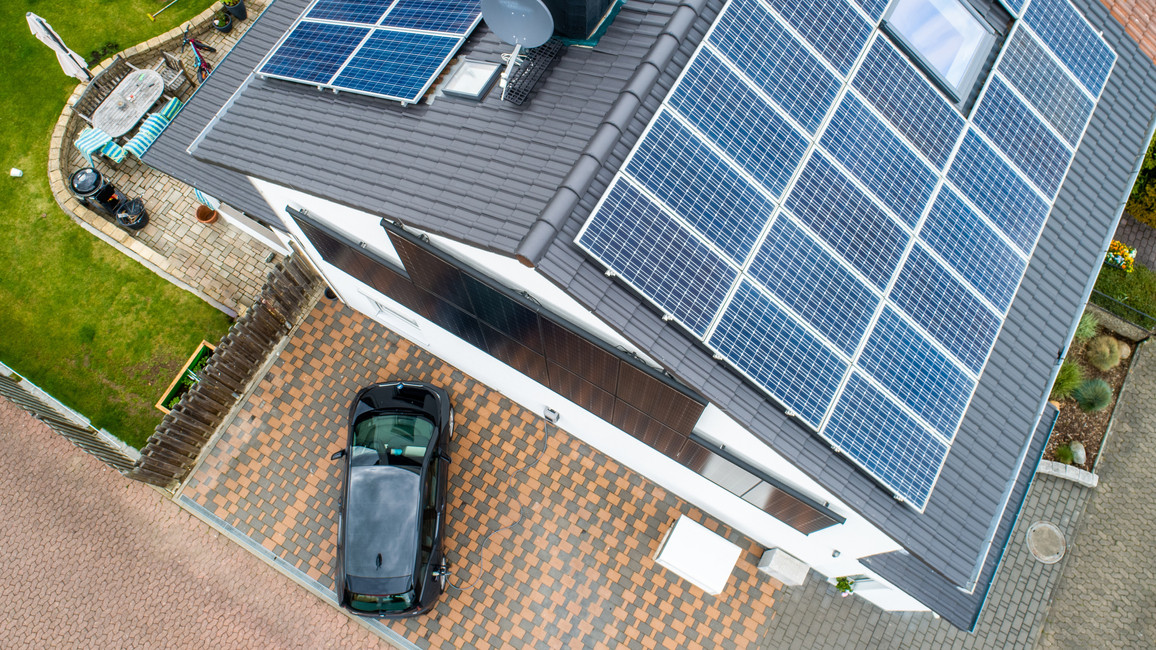 Energieeffizientes Gebäude