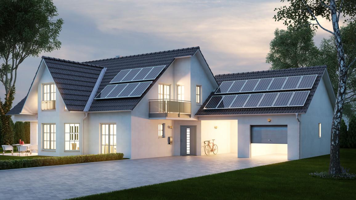 Photovoltaik lässt sich laut EEWärmeg anrechnen