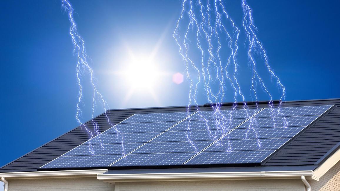 Photovoltaik Versicherung  schützt vor Unwetterschäden
