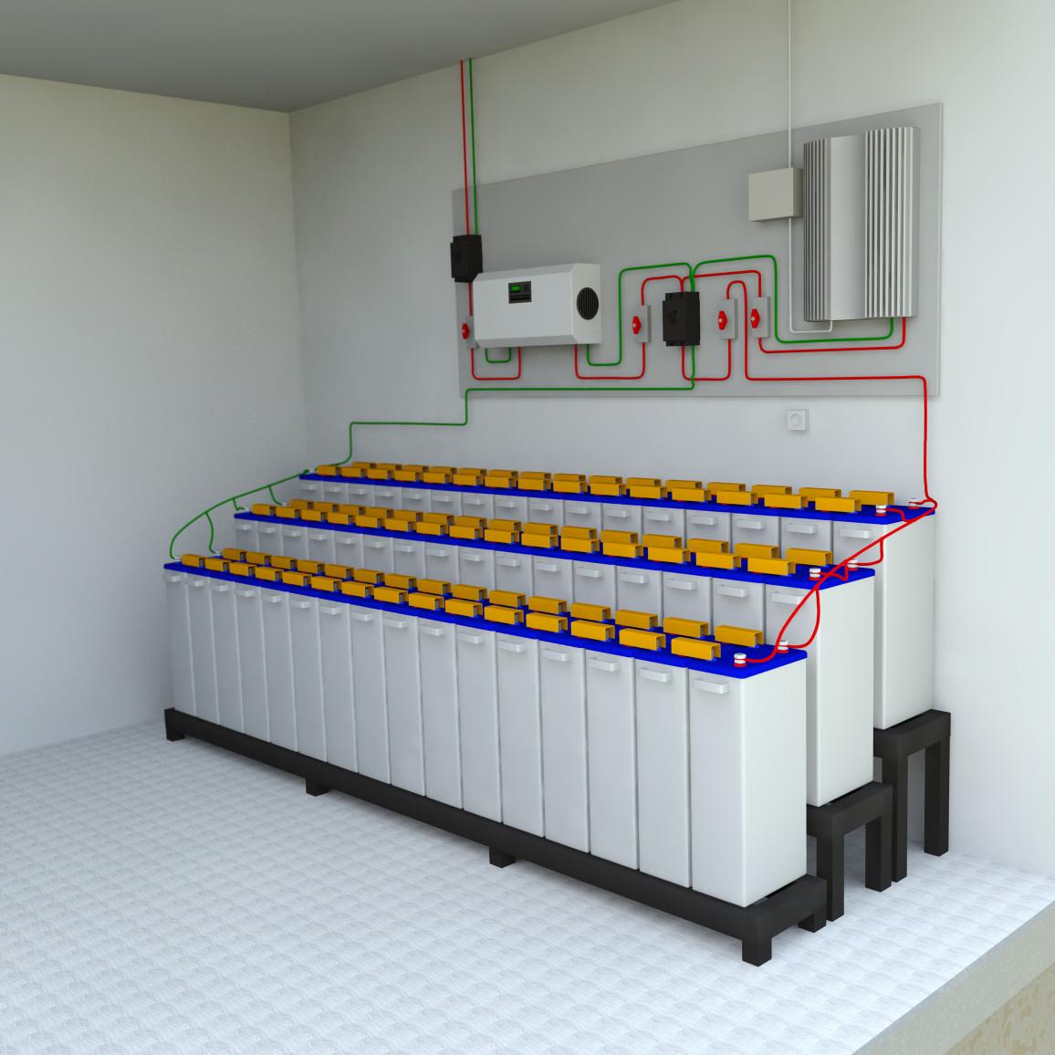 Großer Stromspeicher auf Blei-Ionen-Basis
