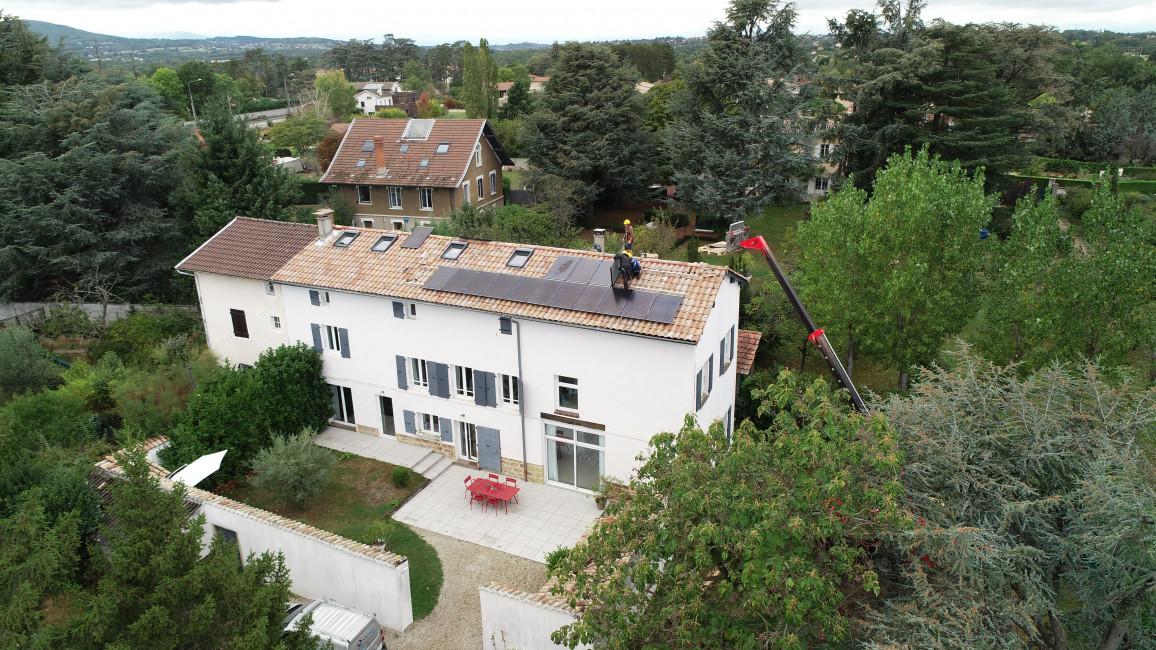 Weg zur Photovoltaikanlage