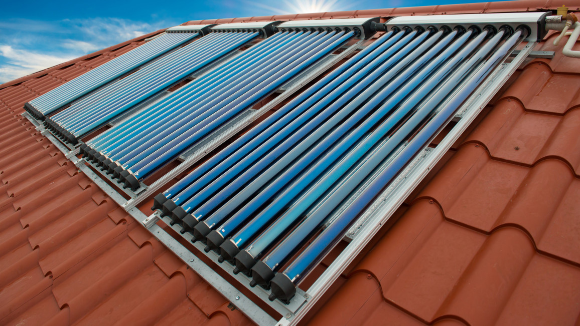 Solarenergie in Form von Wärme speichern
