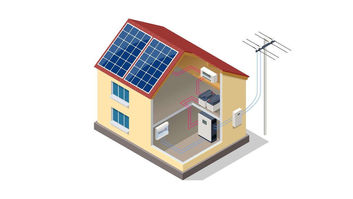 Solar-Wechselrichter