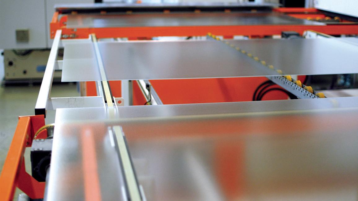 Produktion Glas Print