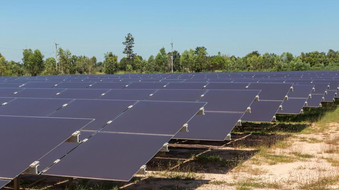 Duennschicht Solarmodule
