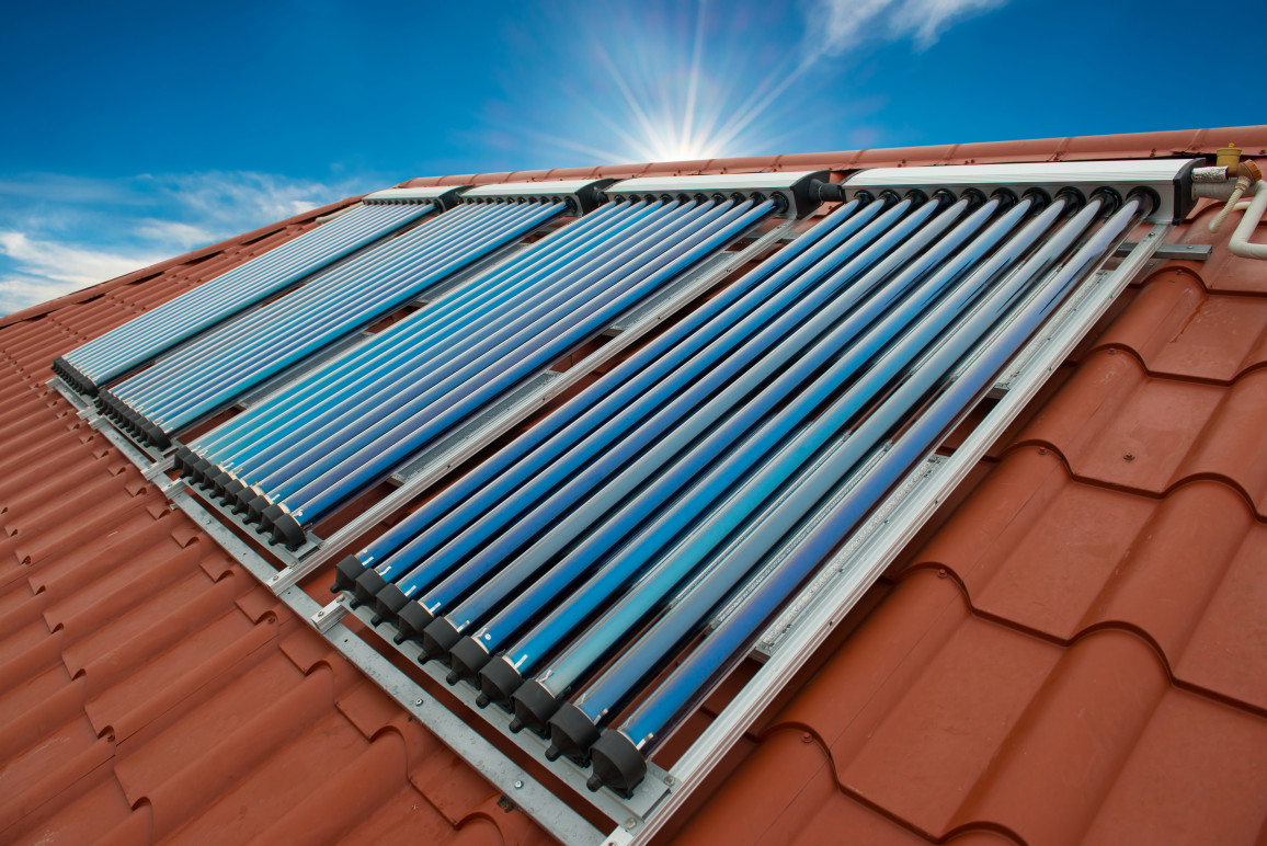 Sollarkollektoren für Solarthermie