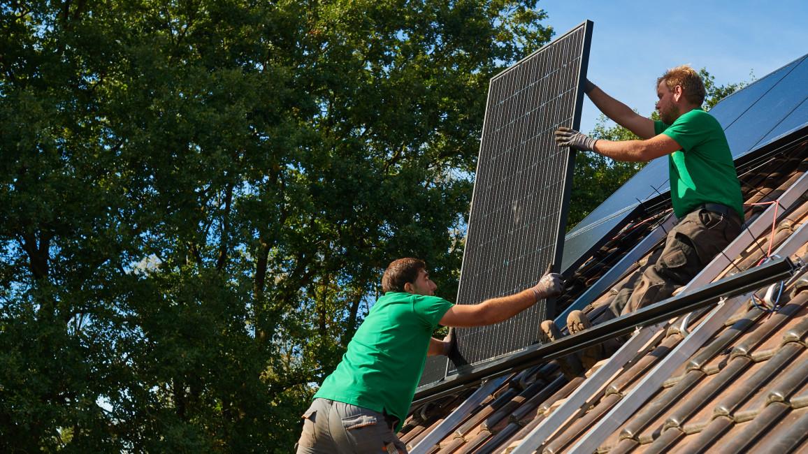 Ausrichtung Photovoltaikanlage