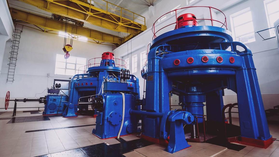 Wasserkraftwerk - Stromerzeugung aus Wasser