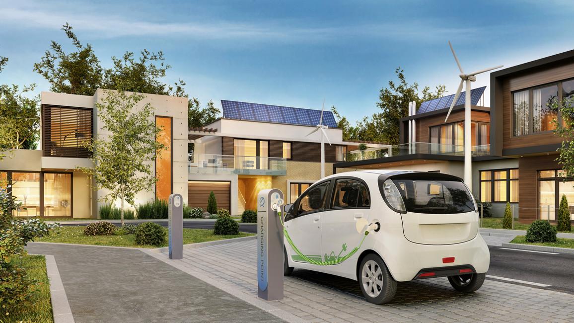 Elektroauto daheim aufladen mit Solarenergie