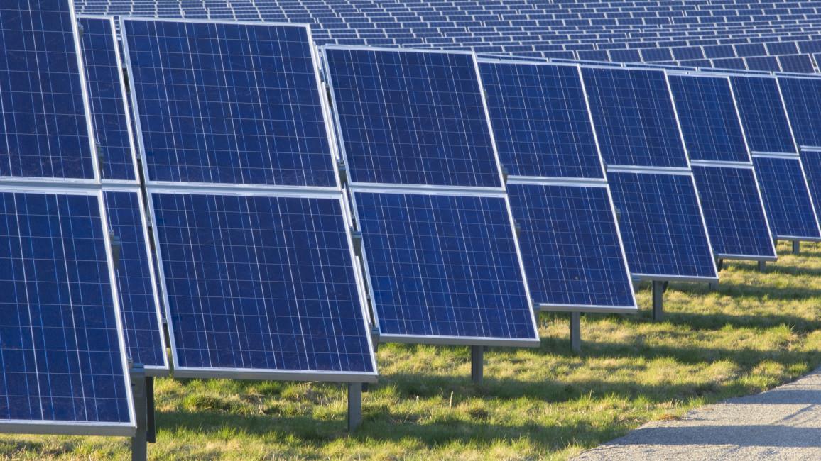 Solarstrom wird mit PV-Modulen gewonnen