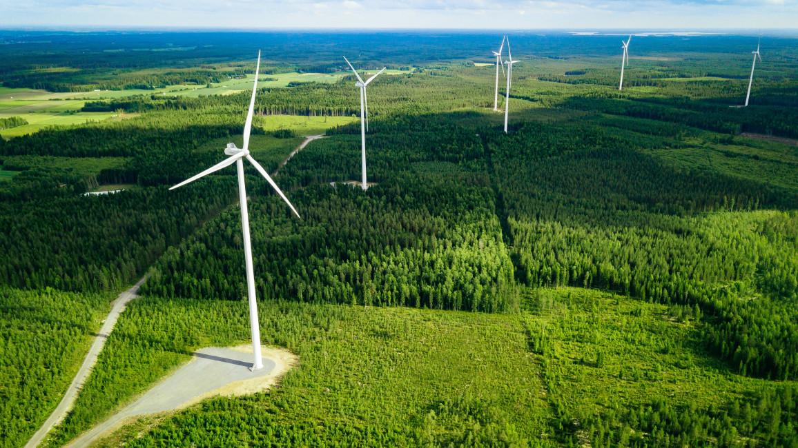 Stromerzeugung mit Windkraft