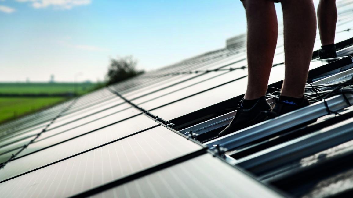 Installation PV-Anlage